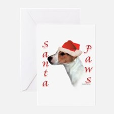 Santa Paws Jack Russell Greeting Cards (Pk of 10)