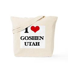 I love Goshen Utah Tote Bag