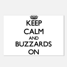 Keep Calm and Buzzards ON Postcards (Package of 8)
