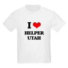 I love Helper Utah T-Shirt