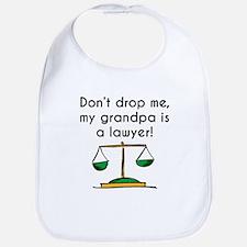 My Grandpa Is A Lawyer Bib