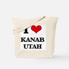 I love Kanab Utah Tote Bag