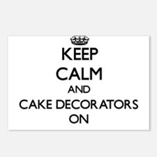 Keep Calm and Cake Decora Postcards (Package of 8)