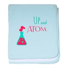 Up and Atom baby blanket