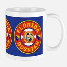 Florida Bosnian American Mugs