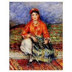 Renoir - Algerian Girl Poster
