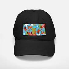 Hippie Flower Power Baseball Hat