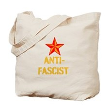 Anti-Fascist Tote Bag