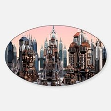 Futuristic City Decal