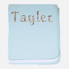 Tayler Seashells baby blanket