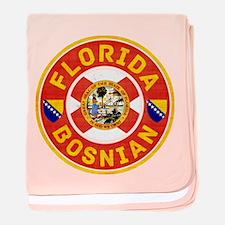 Florida Bosnian American baby blanket