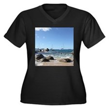 BVI Sailing Boats Plus Size T-Shirt