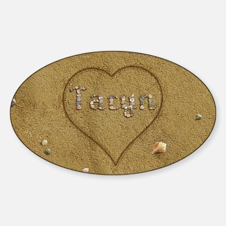 Taryn Beach Love Decal