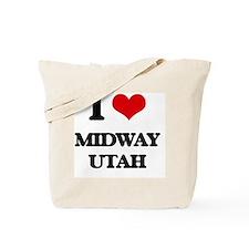 I love Midway Utah Tote Bag