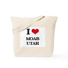 I love Moab Utah Tote Bag