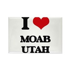 I love Moab Utah Magnets