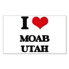 I love Moab Utah Decal