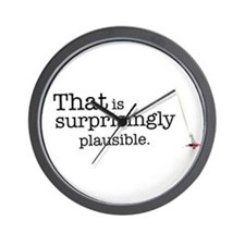 That is surprisingly plausible. Wall Clock