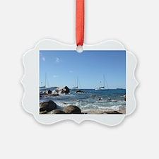 BVI Sailing Boats Ornament
