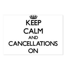 Keep Calm and Cancellatio Postcards (Package of 8)