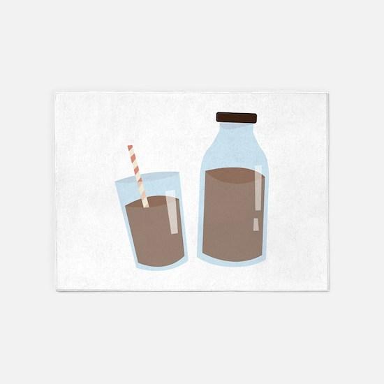 Chocolate Milk 5'x7'Area Rug