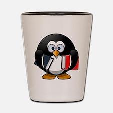 Smart Penguin Shot Glass