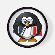 Smart Penguin Wall Clock