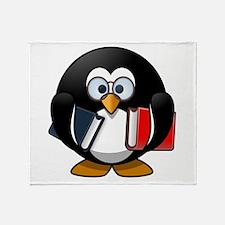 Smart Penguin Throw Blanket