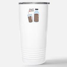 Chocolate Cows Travel Mug