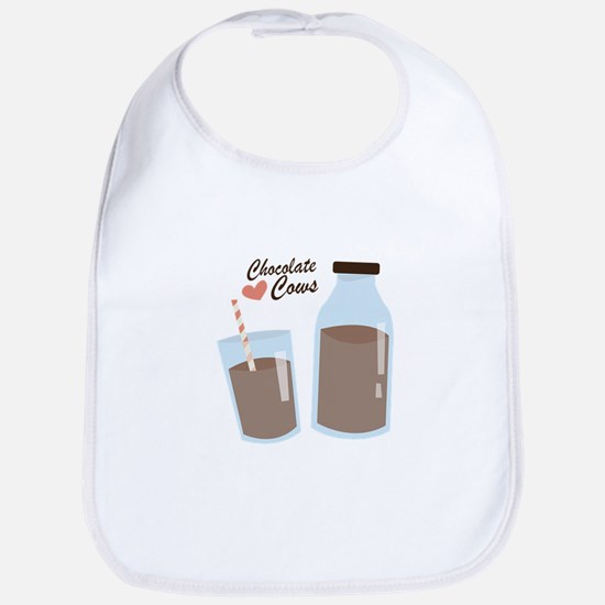 Chocolate Cows Bib