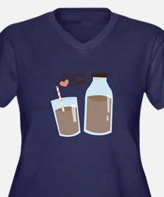 Chocolate Cows Plus Size T-Shirt