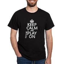 Keep Calm and Play On (trombone) T-Shirt