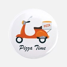 """Pizza Time 3.5"""" Button"""