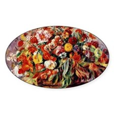 Renoir - Basket of Flowers Decal