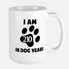 30th Birthday Dog Years Mugs