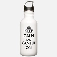 Keep Calm and Canter O Water Bottle