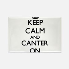 Keep Calm and Canter ON Magnets