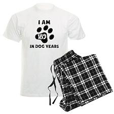 27th Birthday Dog Years Pajamas