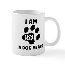 27th Birthday Dog Years Mugs