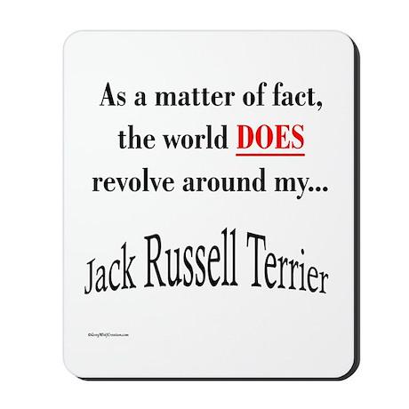 Jack Russell World Mousepad