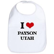 I love Payson Utah Bib