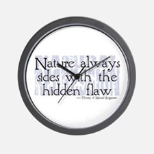 Natural Regression Wall Clock