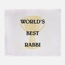 RABBI Throw Blanket