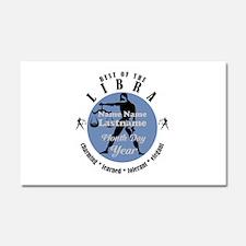 Custom Text Libra Horoscope Zodiac Sign Car Magnet
