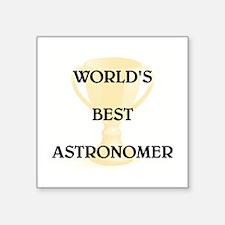 """ASTRONOMER Square Sticker 3"""" x 3"""""""