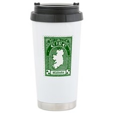 Slainte Irish Stamp Travel Mug