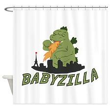 Babyzilla Shower Curtain