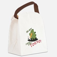 There Goes Tokyo Canvas Lunch Bag