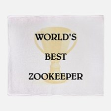 ZOOKEEPER Throw Blanket