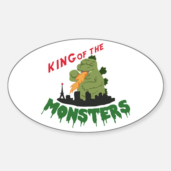 King of the Monsters Decal